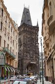 Powder Tower In Prague.