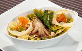 Italian Pasta W Asparagus, Mushroom And Parmesan
