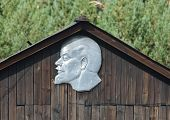 stock photo of lenin  - Silver Vladimir I - JPG