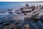 Shore Of Lake Superior
