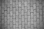 Cobblestone Pavement Pattern Background