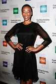 NEW YORK-NOV 18; Actress Samara Wiley attends the CSA 29th Annual Artios Awards ceremony at the XL N