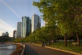 Coal Harbor Seawall Path, Vancouver