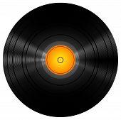 Retro Vinyl Disc Record