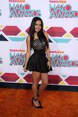 LOS ANGELES - NOV 17:  Becky G at the TeenNick Halo Awards at Hollywood Palladium on November 17, 2013 in Los Angeles, CA