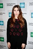 NEW YORK-NOV 18; Actress Zosia Mamet attends the CSA 29th Annual Artios Awards ceremony at the XL Ni