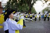 Marching Band In Thai Carnival