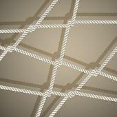 Stylish background with rope.