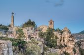 Siurana Church At Tarragona, Spain