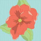 Red Oleander Flower