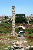 Temple Of Goddess Artemis In Ephesus - One Of Seven Miracles Of Light