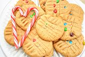 Delicious Cookies and Two Candy Canes