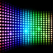 Rainbow Light Squares Background Means Modern Wallpaper Or Shini