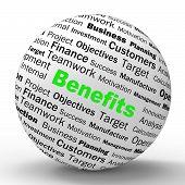 Benefits Sphere Definition Means Advantages Or Monetary Bonuses