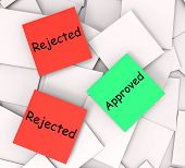 Approved Rejected  Notes Show Passed Or Denied