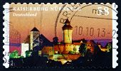 Postage Stamp Germany 2013 Kaiserburg Nurnberg