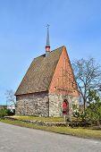 Finland.  Stone Sacristy In Mikkeli