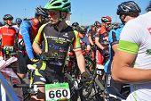 Mountain Bike Cyclists