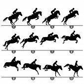 Jumping Horse Phases