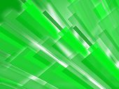 Green Bars Background Means Abstract Art Or Digital Design