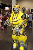 APRIL 19-ANAHEIM, CA: Unidentified cosplayers roam the halls and grounds of the 2014 Annual Wonderco