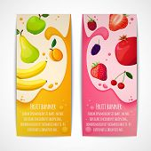 Fruit Banners Vertical