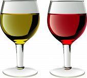 glasses of wines