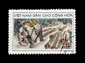 Vietnam stamp 1968