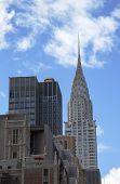 Facade of the Chrysler Building in New York