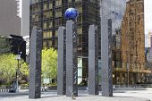 Monument dedicated to Raoul Wallenberg in Manhattan