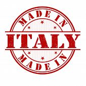 Made In Italy Stamp