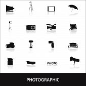 photographic icons eps10