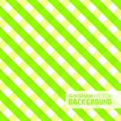 lime green gingham background