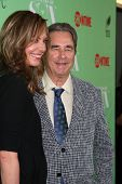 LOS ANGELES - APR 29:  Allison Janney, Beau Bridges at the