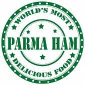 Parma Ham-stamp