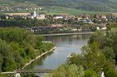 blue Danube near the town of Melk