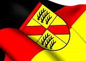 Flag Of Wurttemberg-Baden