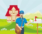 Happy Postman