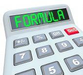 Formula Word Calculator Figure Problem Math Equation