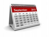 Calendar 2013 - September