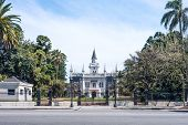 Famous Architectural Landmark Casa Quinta Aurelio Berro, Montevideo, Uruguay