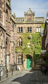 stock photo of devonshire  - Late afternoon sun on Upper Paul Street - JPG