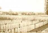 picture of tyne  - Tyne Cot Great world war 1 flanders fields belgium - JPG