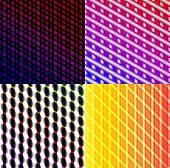 Set of splash color abstract  glowing  background. EPS10. Vector