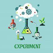 Experiment flat design