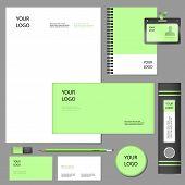 Corporate Identity Elements Mockup