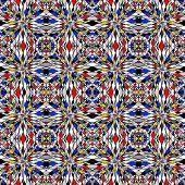 Design Colorful Seamless Mosaic Pattern
