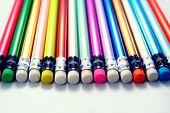 Colorful Pencil Eraser
