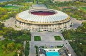 picture of olympic stadium construction  - Stadium Luzniki at Moscow - JPG