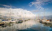 Yacht marina San-Antonio